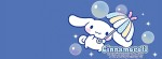 Cinnamoroll umbrella Facebook Timeline Cover Photo