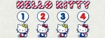Hello Kitty 1234 Facebook Timeline Cover Photo