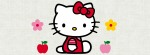 Hello Kitty apples flowers Facebook Timeline Cover Photo