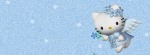 Hello Kitty Blue Angel Facebook Timeline Cover Photo