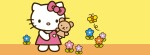 Hello Kitty garden Facebook Timeline Cover Photo