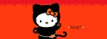 Hello Kitty Halloween Facebook Timeline Cover Photo