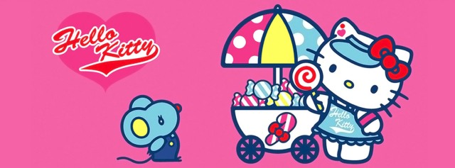 Hello Kitty mouse candy Facebook Timeline Cover Photo