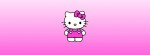 Hello Kitty Pink Fade Facebook Timeline Cover Photo