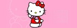 Hello kitty pink reverse Facebook Timeline Cover Photo