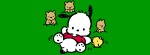 Pochacco slide Facebook Timeline Cover Photo