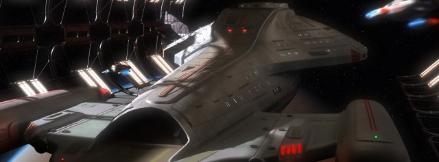 voyager space docks Facebook Timeline Cover Photo