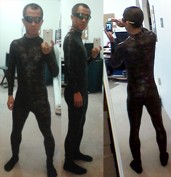 NIGHTWING Running Body Suit / Cosplay (1/2)
