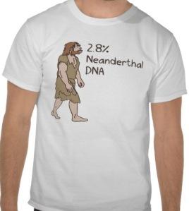 percent neanderthal tshirt