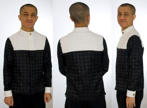 GRID dress shirt collage
