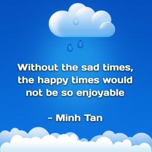 sad happy times quote