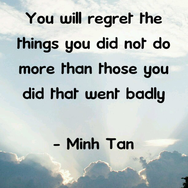 Quotes About Regret In Friendship : Regret more quote digital citizen