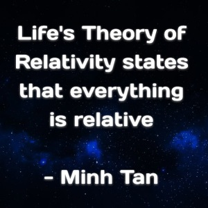 Life Relativity Quote Digital Citizen