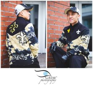 Minh Tan New Orleans Saints Fleece Coat