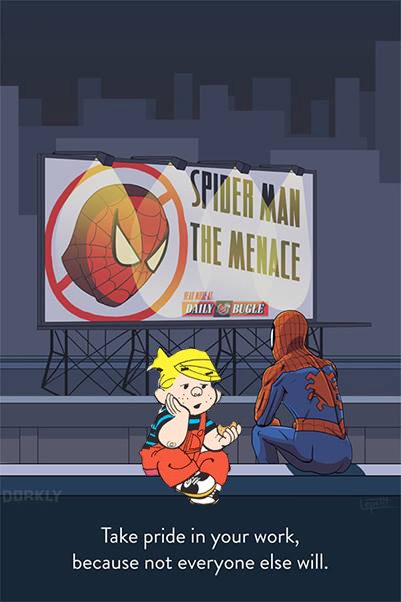 spidey dennis menace